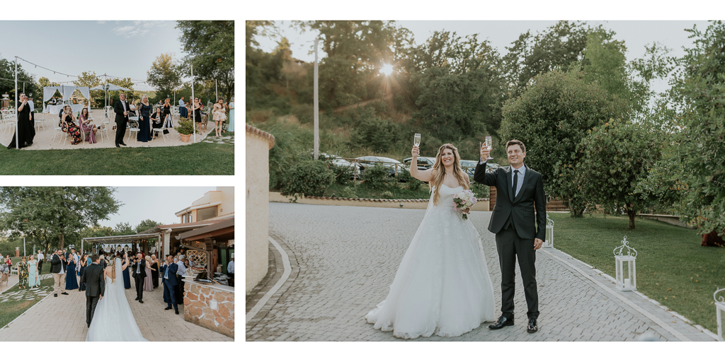 matrimonio in tenuta agrivillage a Roma