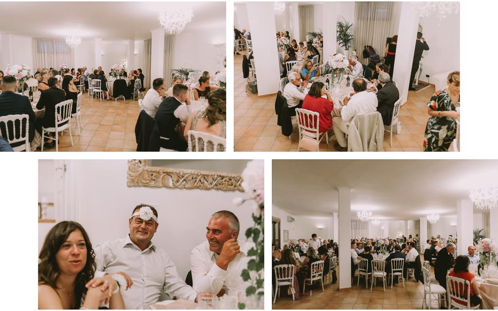 ricevimento matrimonio presso tenuta agrivillage a Roma