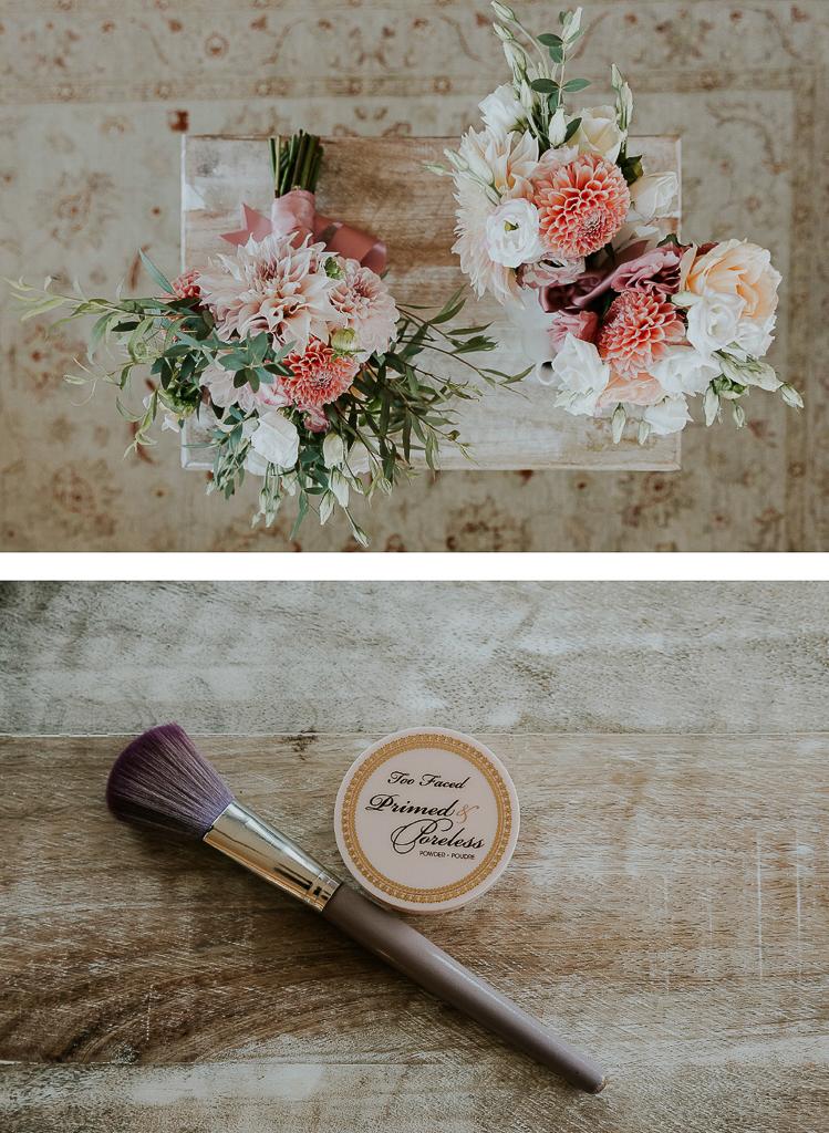 dettagli e bouquet della sposa