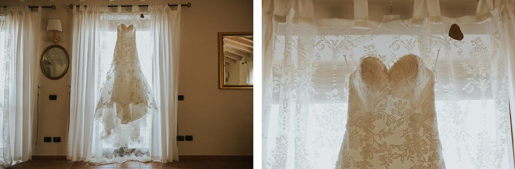 vestito della sposa