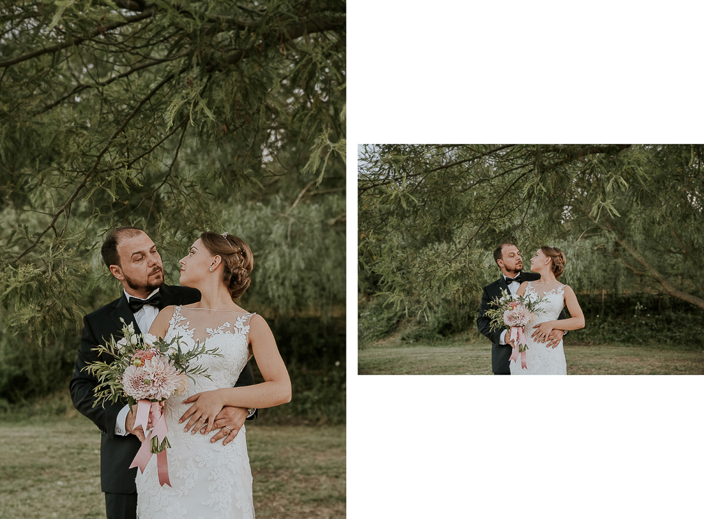 sposi presso tenuta agrivillage