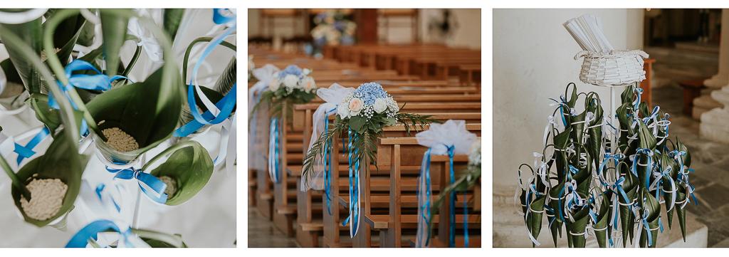 addobbi floreali in chiesa a terracina