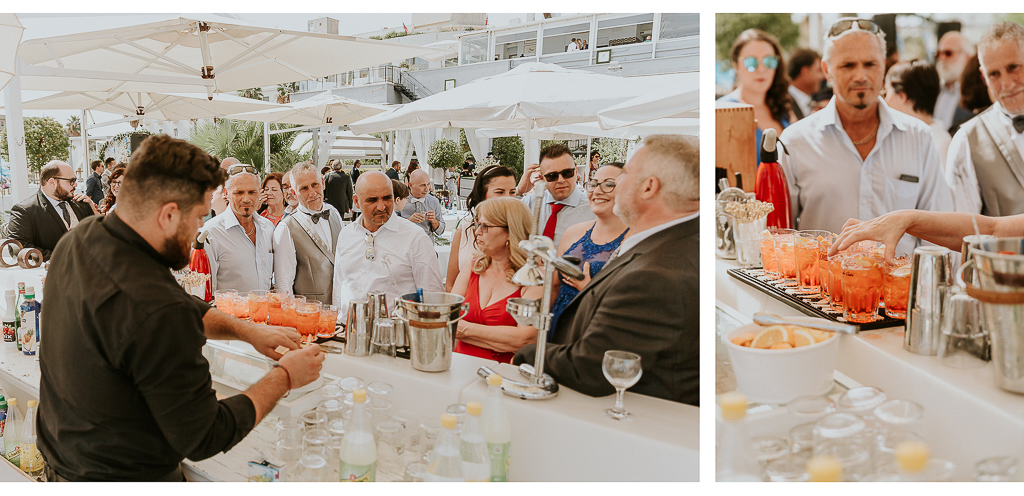 open bar di matrimonio al Grappolo d'uva Terracina