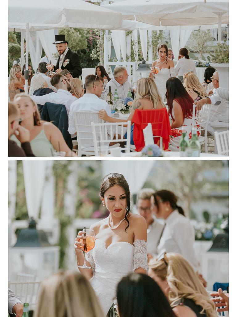 ricevimento di matrimonio al Grappolo d'uva Terracina