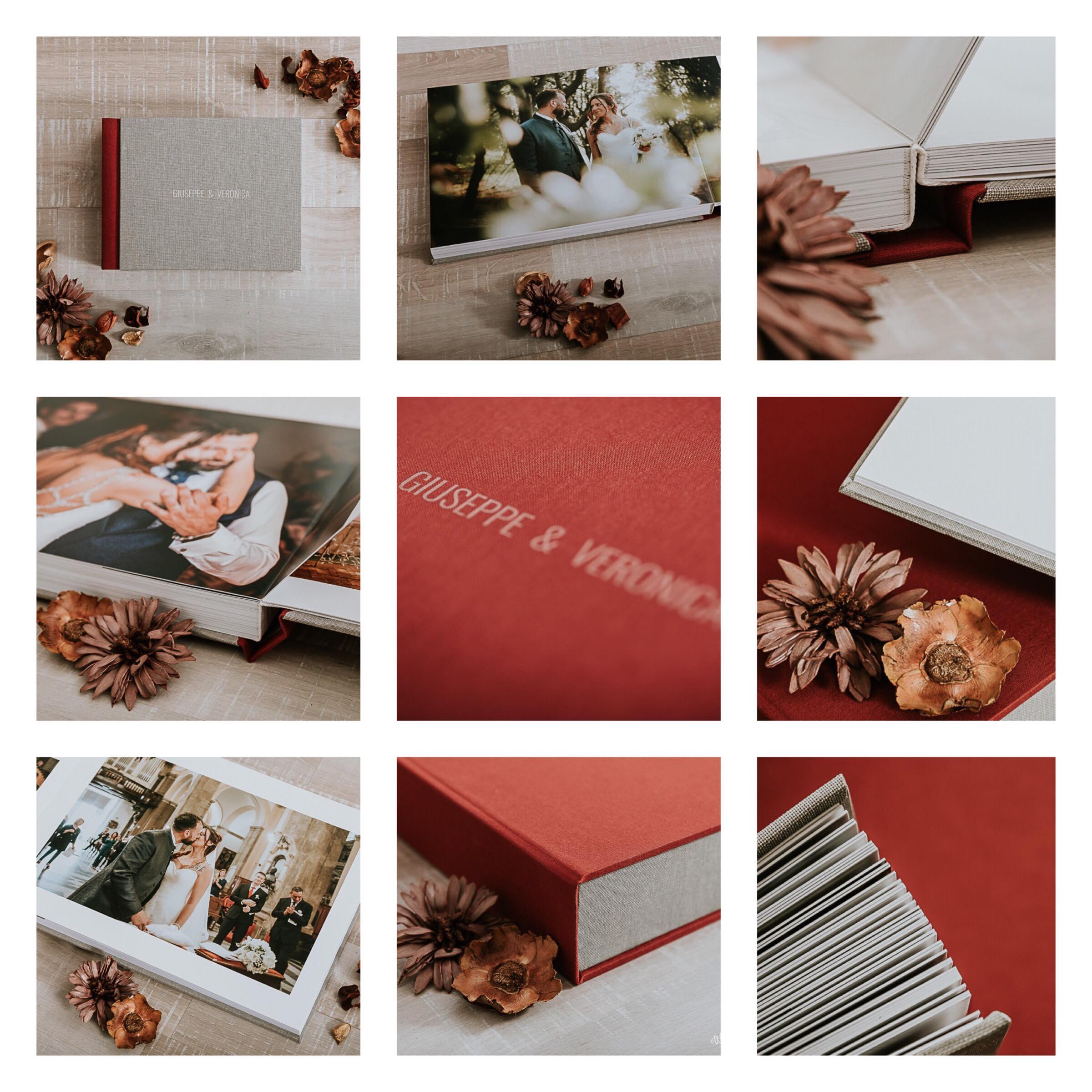 album fotolibro di nozze