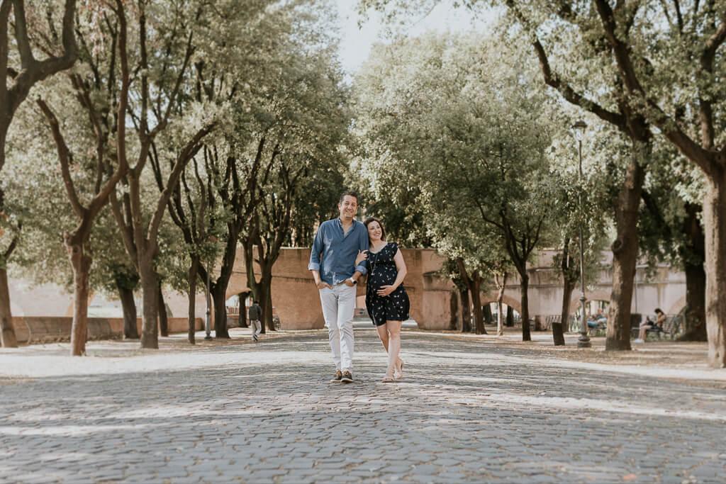 foto romantiche a roma