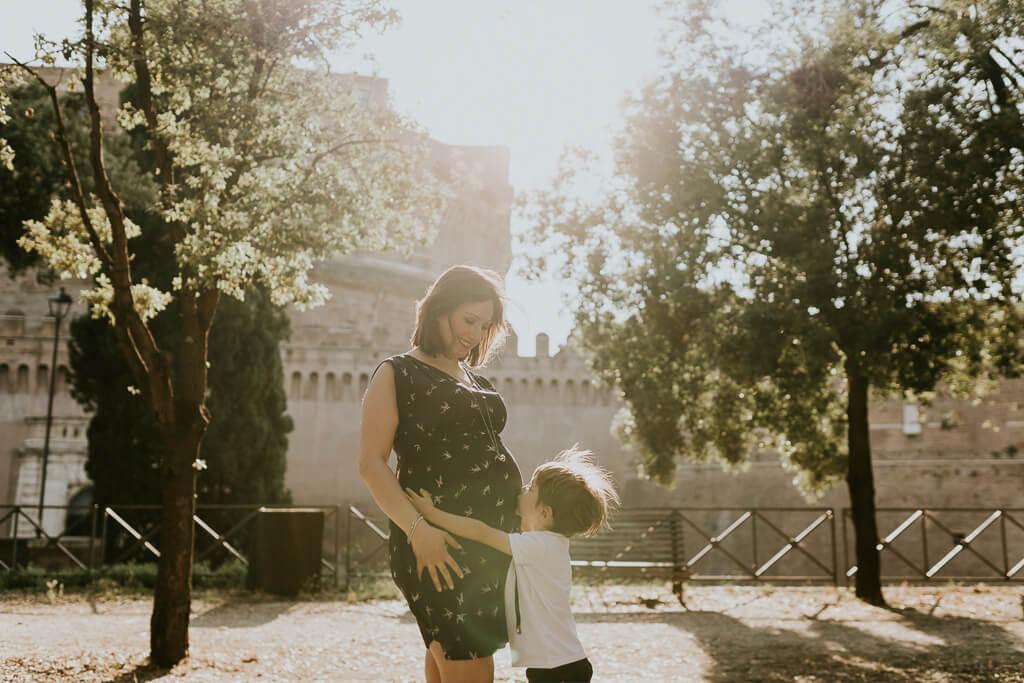 fotografo premaman roma