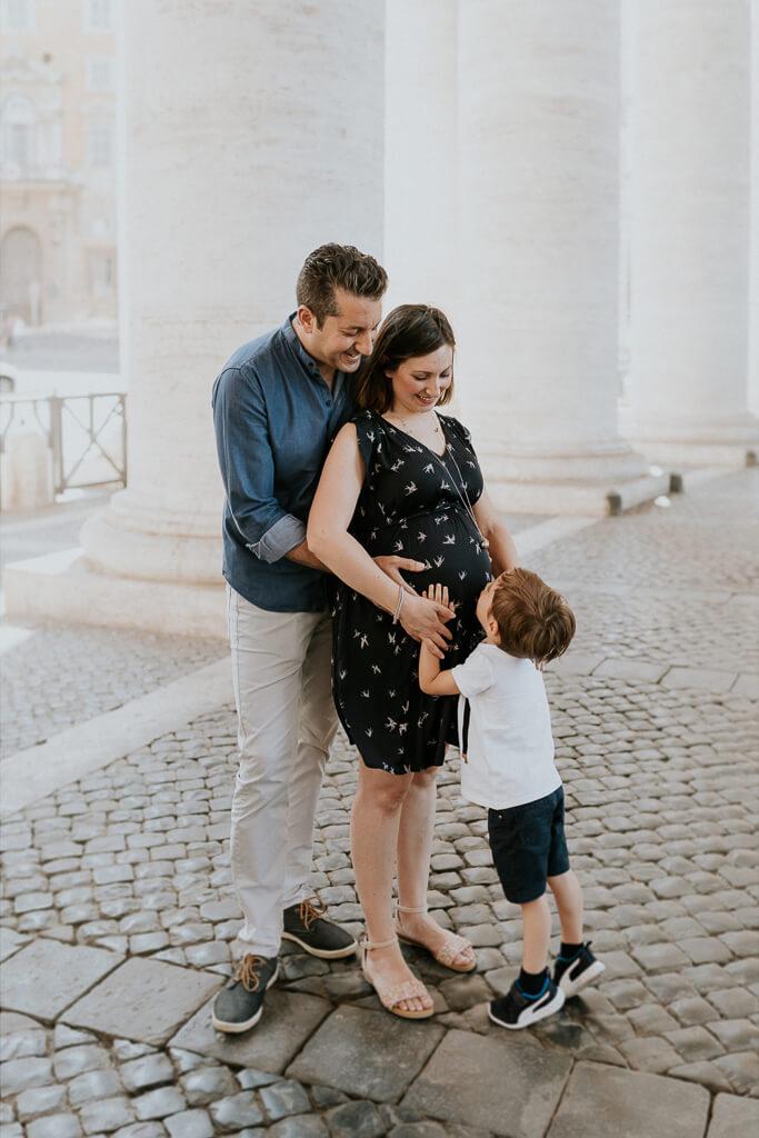 Servizio Fotografico di Gravidanza a Roma