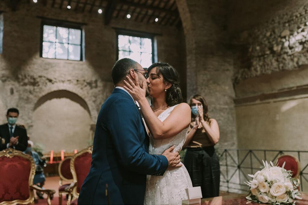 matrimonio intimo a roma
