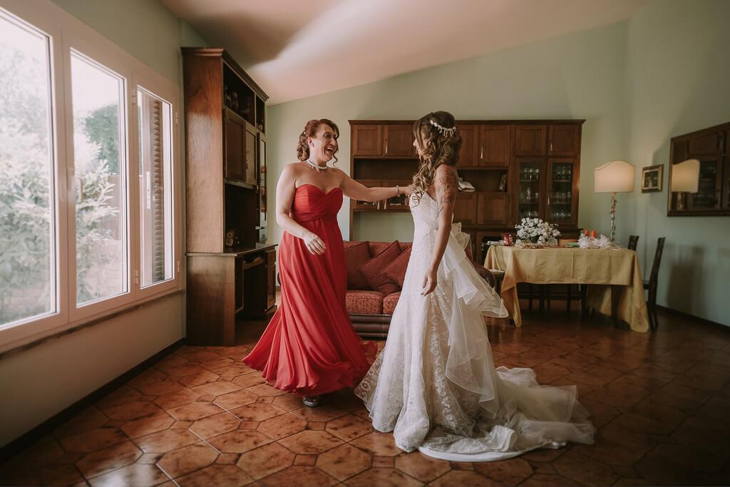 abito sposa roma