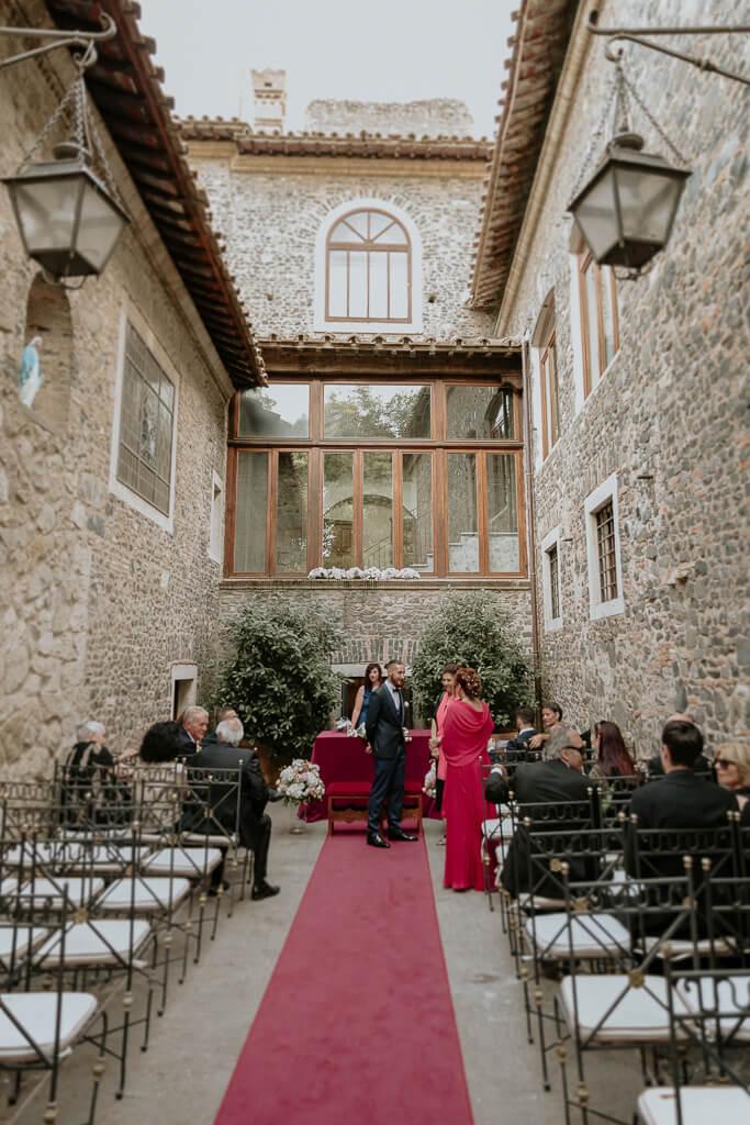 cerimonia intima castello della castelluccia roma