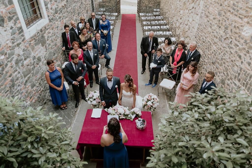 matrimonio intimo castello della castelluccia