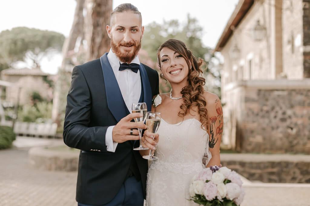 matrimonio intimo castello della castelluccia roma
