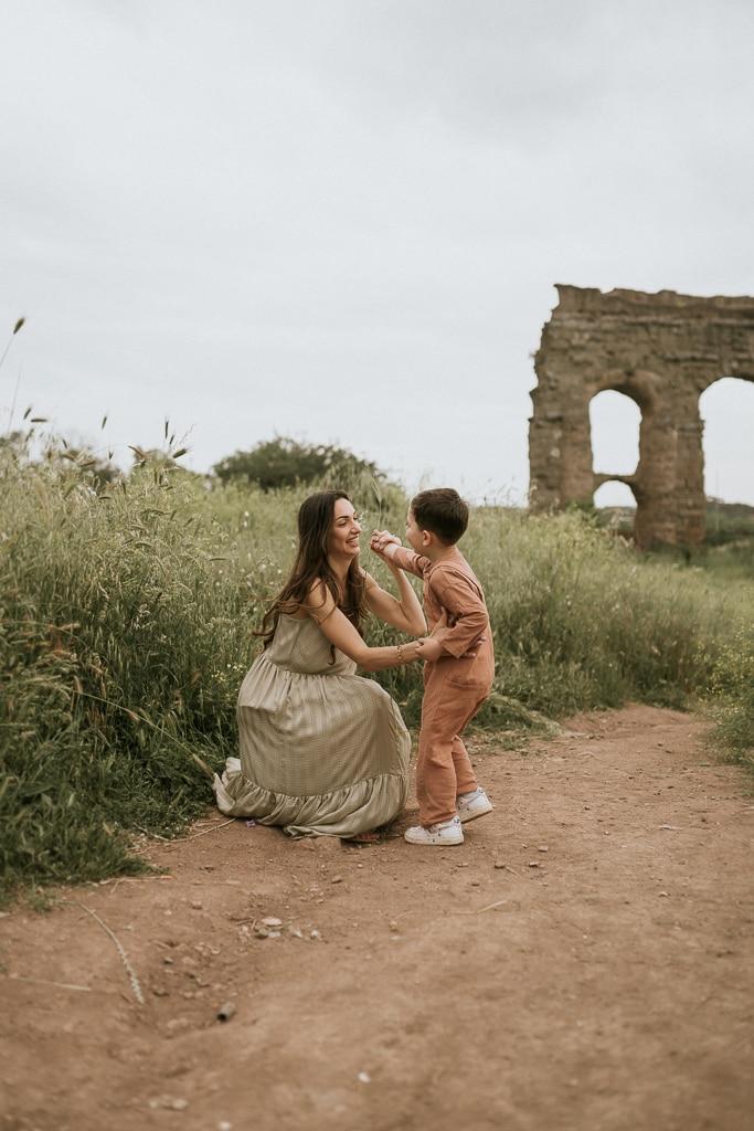 foto di famiglie roma
