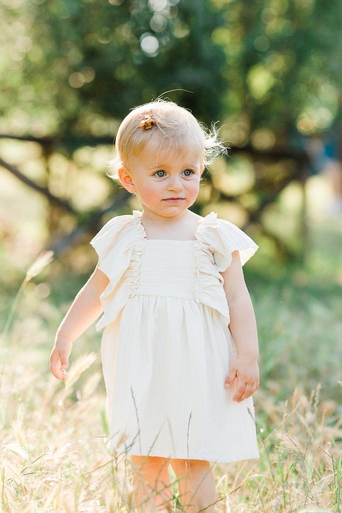 la bambina al parco