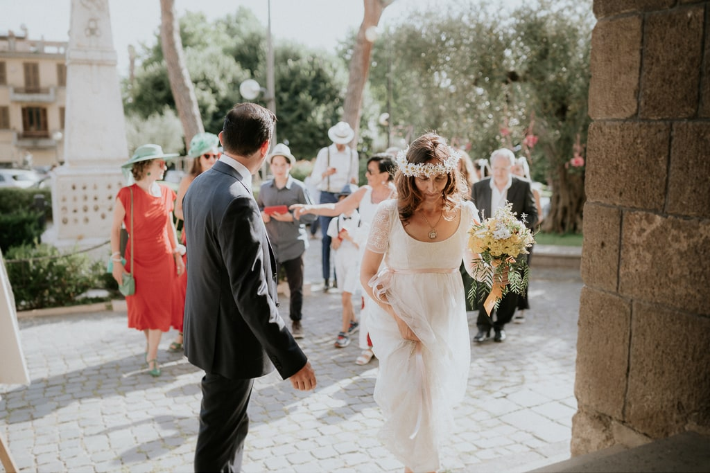 ingresso degli sposi