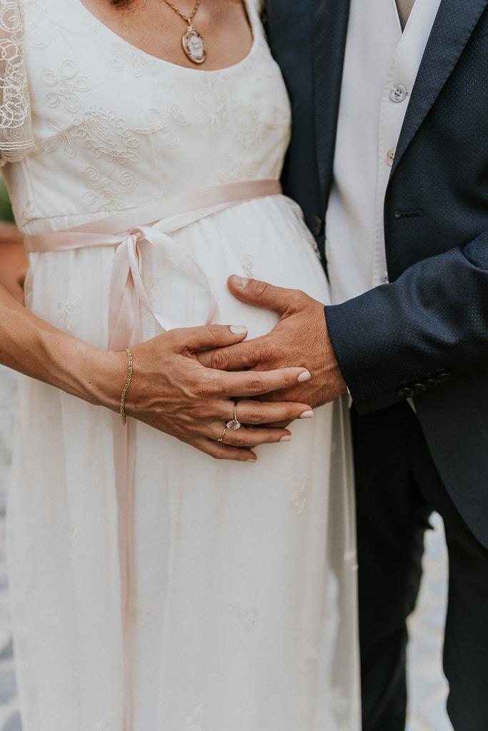 matrimonio in gravidanza