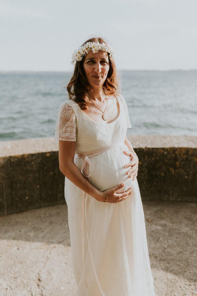 sposa in gravidanza