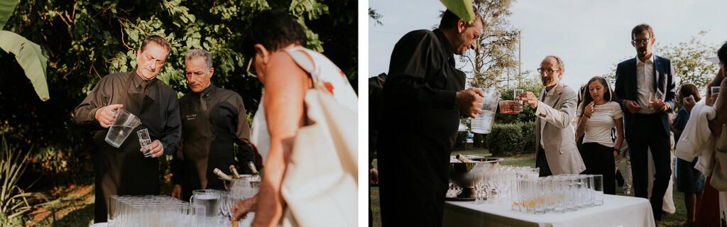 ricevimento matrimonio in giardino