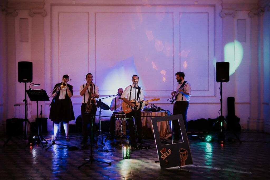 band matrimonio villa aurelia