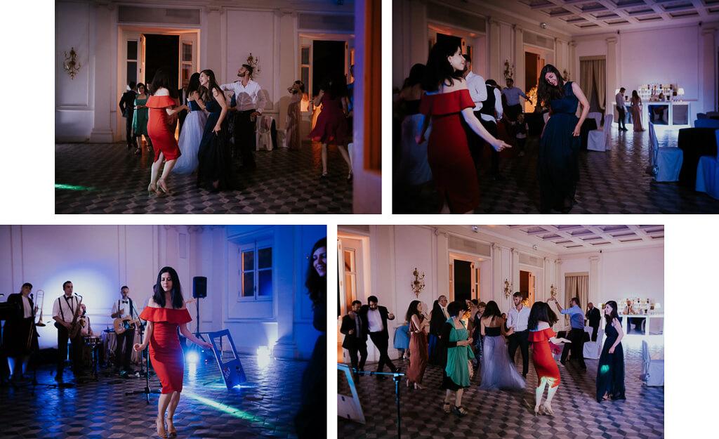 festa di matrimonio a villa aurelia