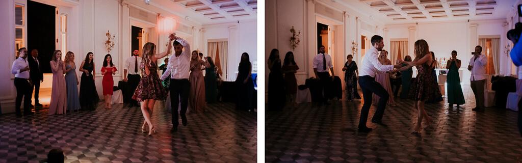 sposi ballano a villa aurelia