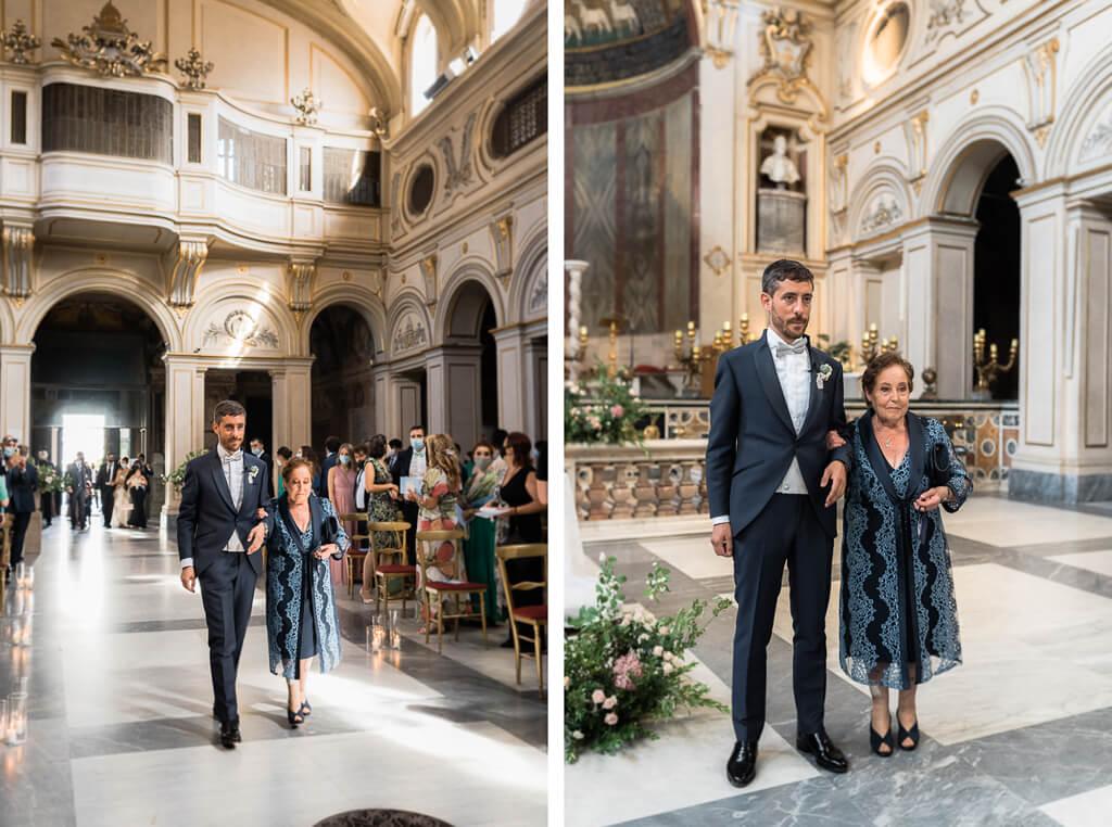 ingresso dello sposo santa cecilia in trastevere