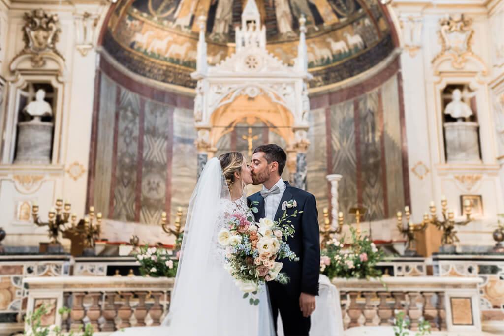 sposi santa cecilia in trastevere roma