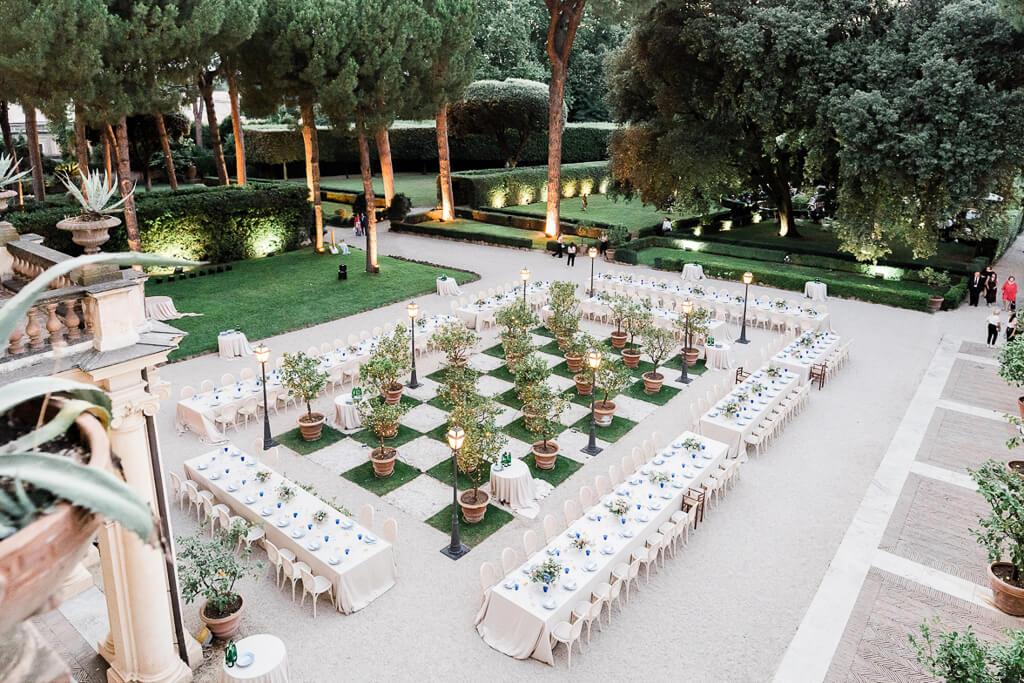 location matrimonio roma