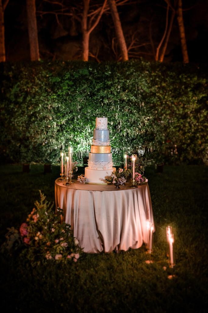 taglio torta villa aurelia